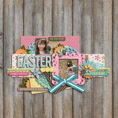 LOVE! Easter perfection by @Tasha | Easter Blossom kit from peppermintcreative.com