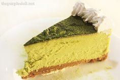 Green Tea Cheese Cake at Akiba Cafe