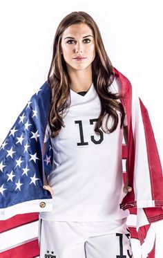 Alex Morgan i see myself marrying a girl like her.