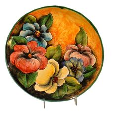Rustica Gift Mexican Pottery Mayolica Colores Large Platter
