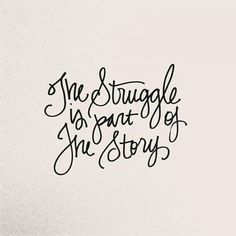 That's why the best tales have the most awesome struggles.