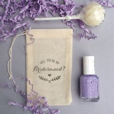 Bridesmaid Proposal Stamped Will You be my by ThePaperShoppeCA #howtogethimtopropose Bridesmaid Bags, Bridesmaid Proposal Gifts, Asking Bridesmaids, Bridesmaids And Groomsmen, Will You Be My Bridesmaid, Wedding Bridesmaids, Bridesmaid Invitations, Cheap Invitations, Shower Invitations