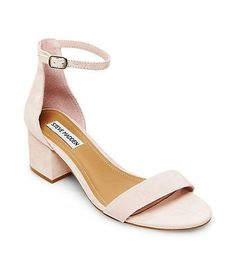 Ankle Strap Shoes with Low Heel | Steve Madden IRENEE #sandalsheelslow
