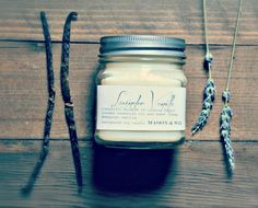 Delicious lavender and vanilla blended to perfection in this calming soy candle.