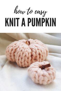 Chunky Knit Pumpkin Patterns