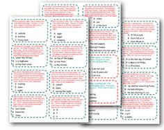 Inferencing Cards...Set 1   # Pin++ for Pinterest #
