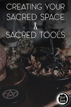 There is a strong, special power in spaces and items that have been consecrated for your specific practice. Let's create your sacred space and tools! Meditation For Stress, Meditation Space, Wiccan Altar, Witchcraft For Beginners, The Rite, I Am Amazing, Love Spells, Spiritual Connection, Book Of Shadows
