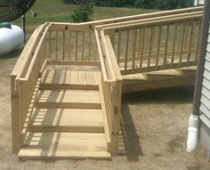 handicapped steps for home | Walker Steps
