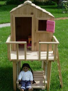 Creative custom display boxes and furniture dolls houses for American girl dolls  Www.americangirl.co.za