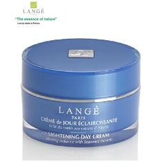 LANGE Paris luxury Bio-cosmetics LIGHTENING Day cream Moisturizing & Nourishing #LANGEParisFranceluxurybotanicalcosmetics