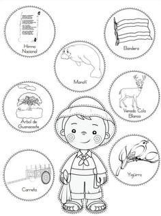 National Symbols, Independence Day, Language Arts, Special Day, Worksheets, Preschool, Scrapbook, Bingo, Bb