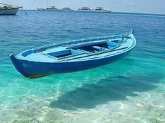Clear water in Fiji island – This boat appears to be floating on air, but the crystal blue waters are just that. A perfect place to go boating and enjoy the marine life. Dream Vacations, Vacation Spots, Romantic Vacations, Romantic Getaway, Oh The Places You'll Go, Places To Travel, Beautiful World, Beautiful Places, Blue Boat