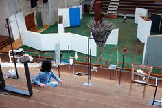 Maria Hassabi, Intermission, with Gabriel Lester, Lithuanian-Cypriot Pavilion, 55th Venice Biennale.