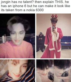 Incredible talents of Kim Jongin