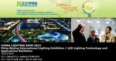 CHINA LIGHTING EXPO 2013 China Beijing International Lighting Exhibition / LED Lighting Technology and Applications Exhibition 북경조명전