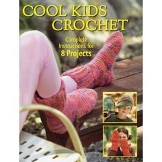 It's hard to make Christmas gifts for kids these days. Thankfully, Creative Publishing International offers this excellent collection of crochet patterns in Cool Kids Crochet. You'll be able to crochet trendy patterns that kids will love. $11.04