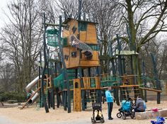 A new and totally awesome playground opens in Germany.