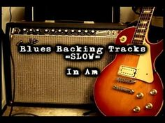 Slow Blues Backing Track in Am - YouTube