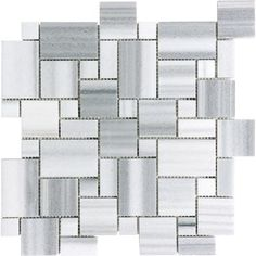 Anatolia - Polished Fluid Mini Versailles Mosaics - 76-333 - Home Depot Canada