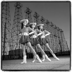 Texas Kilgore Rangerettes: Known for their high kicks and high glamour, the Rangerettes introduced the idea of the football halftime show to the world in 1940.