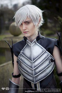 Fenris cosplay from Dragon Age II by NekoMaliChan.deviantart.com