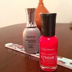 "#ManiMonday It may be fall but its warm and sunny outside in #Toronto today so Im feeling like I need some bright red nails. For colour I'm using Xtreme Wear im ""Pucker Up"" and using Sally Hansen Diamond Strength for base and top coat. #manicure #beauty #nails #red #rednails #sallyhansen #manimonday #monday #mondays #puckerup #cosmetic #cosmetics #makeup #beautyblog #beautychat #beautytalk #bblog #bblogger #bbloggers"