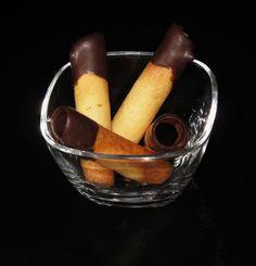 Neulas con chocolate