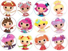 .Etiquetas Lalaloopsy Party, Bottle Cap Images, 4th Birthday, Diy And Crafts, Resin, Scrap, Printables, Anime, Ideas