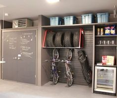 Look how organized this garage is! Amazing how clean it looks. #garageorganizing