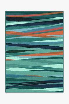 Meridian Turquoise Rug