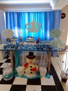 Frozen birthday party, festa de aniversário Frozen