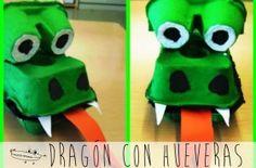 dragon con hueveras