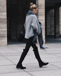 awesome Такие модные ботфорты (50 фото) — С чем носить? Стильные варианты