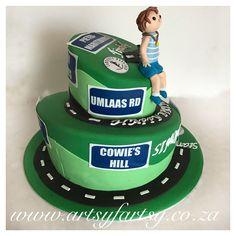 Comrades Marathon Cake #comradesmarathoncake Cupcake Cakes, Cupcakes, Sport Cakes, Marathon, Birthday Cake, Sports, Desserts, Food, Hs Sports
