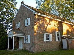 Alloway's Creek Meetinghouse is a historic Quaker meeting house on Buttonwood Ave, 150 feet west of Main Street in Hancock's Bridge, New Jersey. It was built in 1756 and served as a very important community building for pre-revolutionary history and especially revolutionary history!