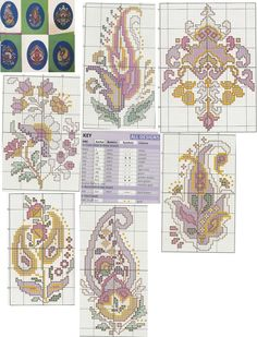 Jewels of India • Charts, Colour Key and Designs