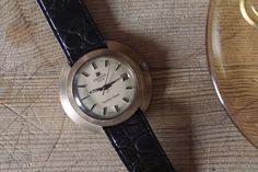 Tissot Seastar Seven Hand Wind with Date and Seconds Men's Vintage Wristwatch #Tissot #Vintage