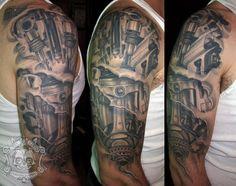 piston tattoo - Google Search