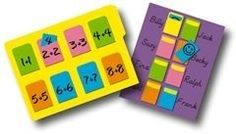"""Top Notch Teacher Products TOP4025 Brite Color Peel and Stick Pockets, 5.3"""" Wide, 4.5"""" Length, 0.7"""" Height (25 per Package)  Choose from brites, primaries, gingham & designer! perfect for file folder games, behavior modification charts and more! Use matching 3 x 5 Index cards for color coordination  Perfect for file folder games  Use matching 3 x 5 Index cards for color coordination  Great for classrooms and Student activities"""