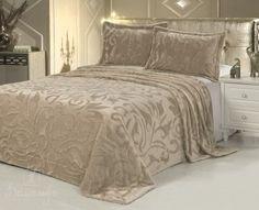 Купить покрывало из искусственного меха VERMONT коричневато-розовое 160х220Н от производителя Tango (Китай)