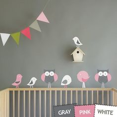 Try the Fun of Bird Wall Decals: Bird Wall Decals For Kids ~ virtualhomedesign.net Wall Decals Inspiration