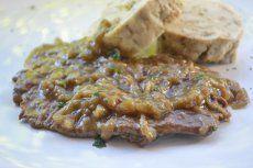 Rindsschnitzel in Rotweinsauce - Rezept | GuteKueche.at Meatloaf, Steak, Paleo, Pork, Food And Drink, Treats, Cooking, Recipes, Instant Pot