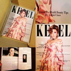 My latest Contributing Beauty Review in Keel Magazine. #AroundTheWorldBeautyTips. Beauty Review, Goal, Beauty Hacks, Creativity, Passion, Magazine, Big, Cover, Beauty Tricks