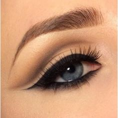 Eye Makeup In Five Steps To Protect The Skin From Makeup ❤ liked on Polyvore featuring beauty products, makeup, eye makeup, eyes, beauty, maquillaje, blue makeup and blue eye makeup