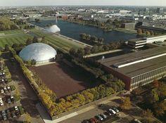 General Motors Technical Center, 1956 by Eero Saarinen | Knoll Inspiration