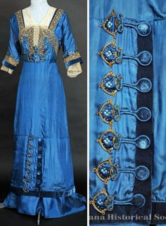 Evening gown ca. 1905-07. Montana Historical Society
