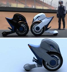 "Rear wheel is questionable, but ""Halbo"" designed by Pierre Yohanes Lubis is BMW, electric, and 'Star Wars' cute."