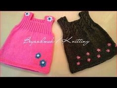 Side Button Easy Baby Vest How? (The beginning Last Lecture) - knitting patterns - knitting Moda Crochet, Crochet Baby, Knit Crochet, Knitted Baby, Pullover Design, Sweater Design, Baby Knitting Patterns, Baby Patterns, Moda Black