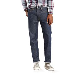 Big & Tall Levi's® 501® Original Shrink-To-Fit™ Jeans, Men's, Size: 42X34, Blue