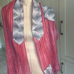 I had so much fun putting a modern and feminine spin on this Tallit, Prayer Shawl, Spin, Feminine, Shawls, Instagram Posts, Modern, Tops, Dresses